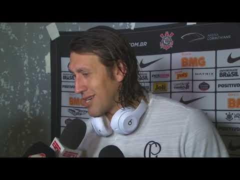 Cassio explica bronca em  Manuel e Henrique apos gol do corinthians | 08/02/2019