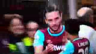 Andy Carroll Hat Trick Goal vs Arsenal ~ 3-2 West Ham United vs Arsenal 09/04/2016