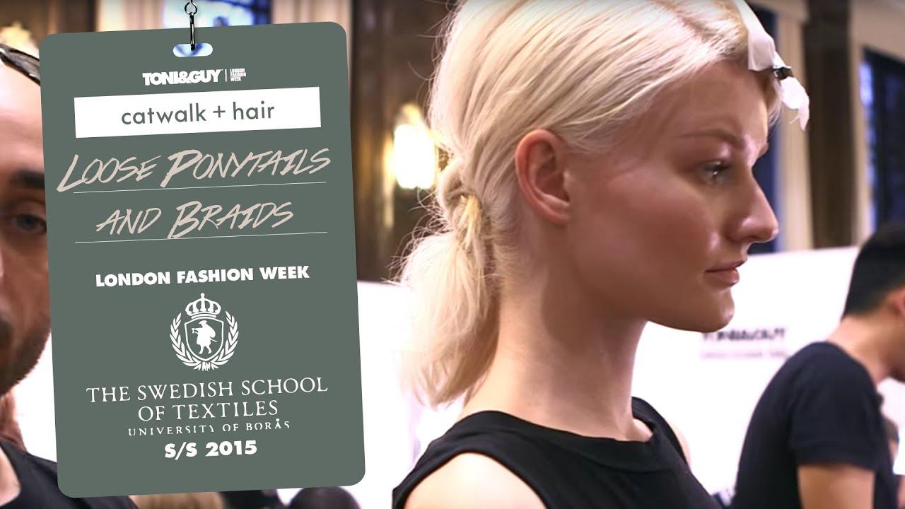 Toniguy Swedish School Of Textiles London Fashion Week Ss15