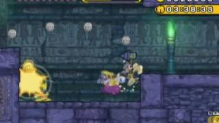 Wario Land: Shake It! - SECRET LEVEL 1-2 - Disturbing Tomb - 100%