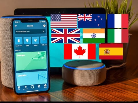 How to Change the Accent or Language on your Amazon Echo Device