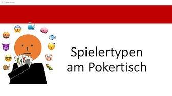 Die Spielertypen am Pokertisch | LAG, TAG, Maniac und Fisch im No Limit Texas Hold'em Poker