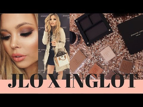JLO X INGLOT : FIRST IMPRESSIONS AND TUTORIAL : REVIEW : MEGHAN VICTORIA