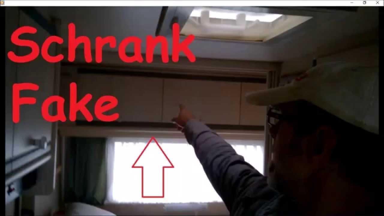 Wohnwagen Schrank Fake Youtube