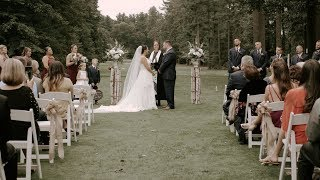 Angela & Matt - Butternut Farm Golf Club Stow Massachusetts Wedding Video