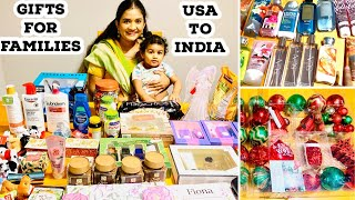 Gifts For Families And Friends From Usa To India !!! Costco | Bath & Body Works | Tj Maxx & More