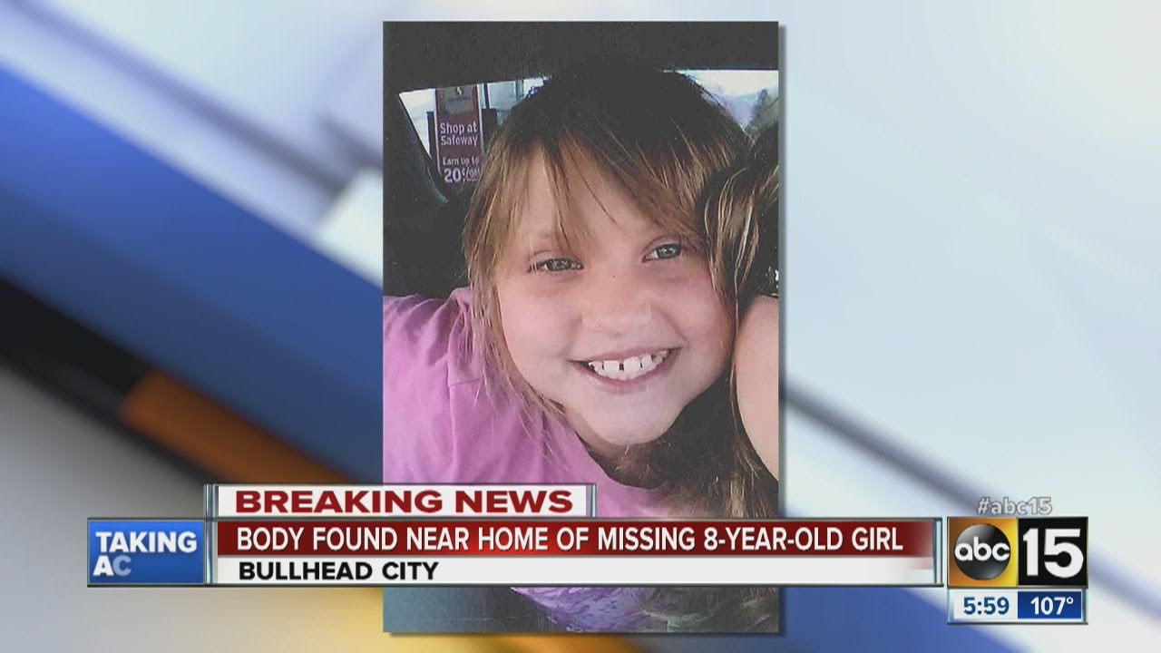 Police find body near home of missing 8-year-old girl