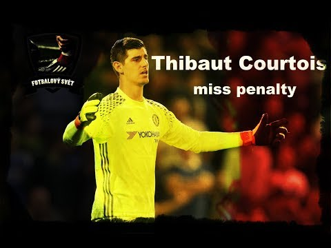 Thibaut Courtois miss penalty, kick│Chelsea│community shield 2017│Fotbalový svět│Soocer, Fotbal