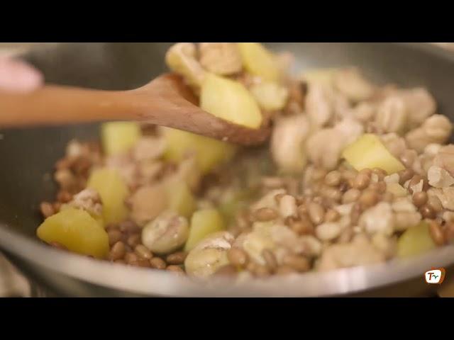 TERRA ORTI TV - Zuppa di fagioli, castagne e patate