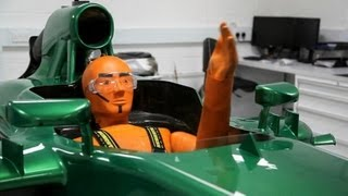 Caterham Unchained: See The 7-post Rig In Action, Take A Tour Of An F1 Race Truck