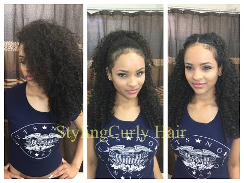 6 quick and simple ways to style curly hair! | Sayria Jade