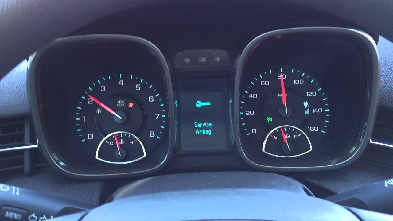2013 Chevy Malibu Instruments malfunctioning while driving ...
