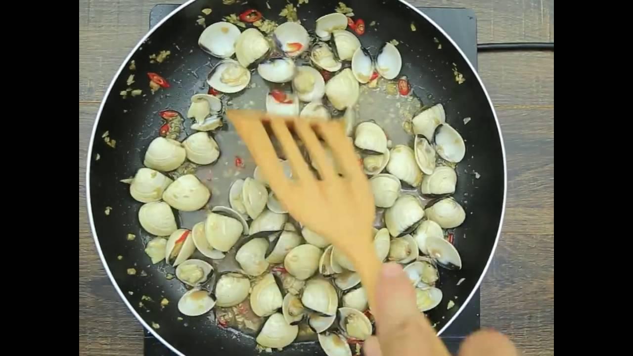 cách làm món ngao xóc tỏi thơm phức ăn bao nhiêu cũng hết