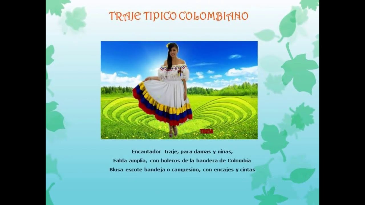 Trajes Tipicos Colombianos Trizia