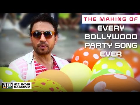 AIB : Making of Every Bollywood Party Song