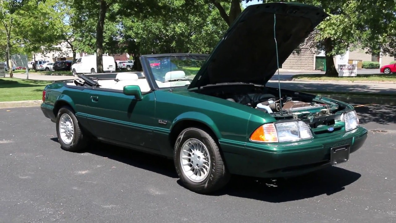 1990 ford mustang 7up edition convertible for sale