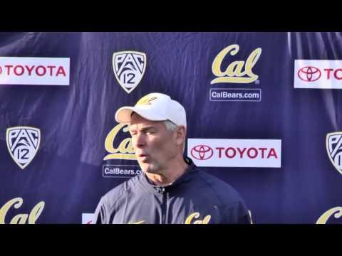 Cal Football: Art Kaufman Post Practice 10/7/15