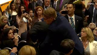 US Journo Dragged Out by Security for 'Protest' at Putin-Trump Presser