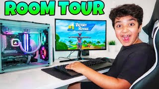 The Best 2021 Room Tour Ever! | AMAZING Fortnite Gaming Setup!