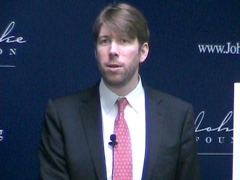 National Review's Charles C.W. Cooke discusses his 'Conservatarian Manifesto'
