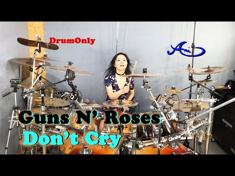 Guns N' Roses - Don't Cry drum-only (cover by Ami Kim) (#70-2)
