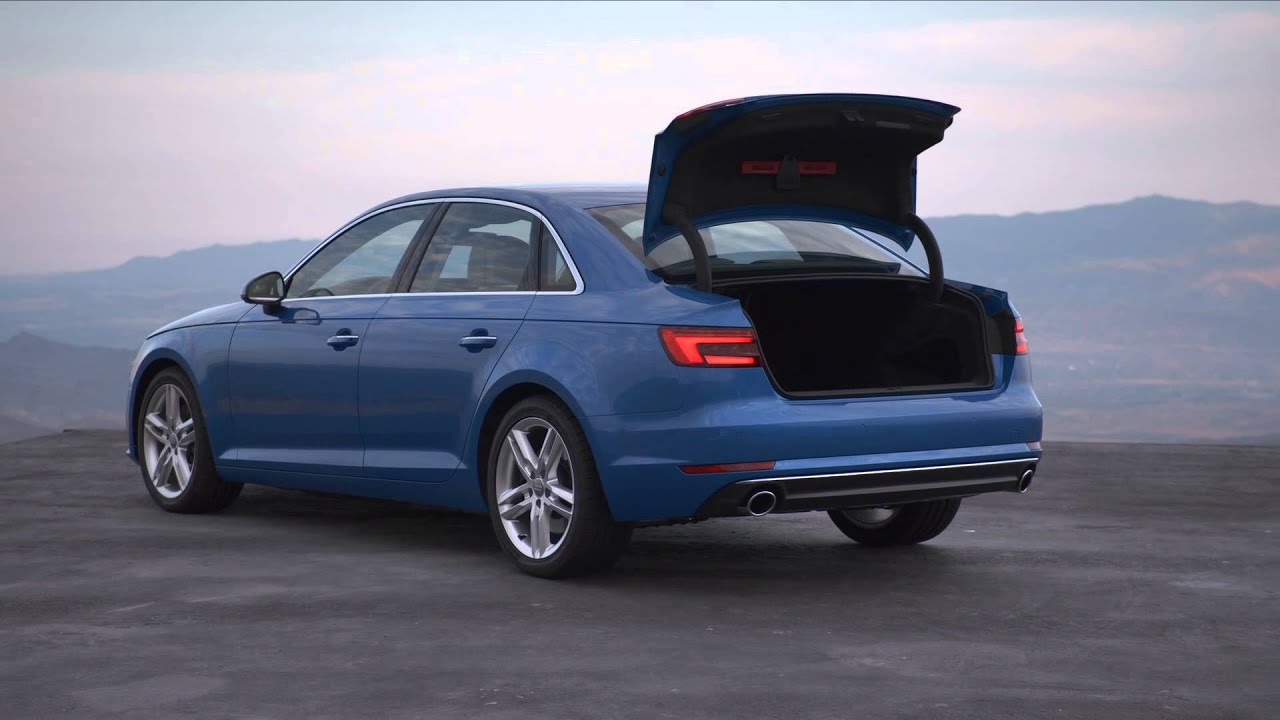 2016 audi a4 sedan footage youtube. Black Bedroom Furniture Sets. Home Design Ideas