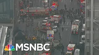 connectYoutube - Former NYPD Commissioner Bill Bratton: NYC Suspect Inspired By ISIS | Morning Joe | MSNBC