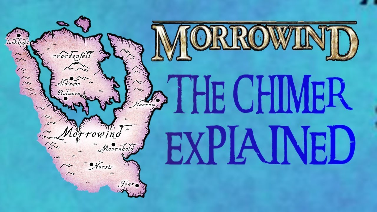 Morrowind Lore: The Chimer and Dunmer EXPLAINED [Elder Scrolls History l Skyrim]