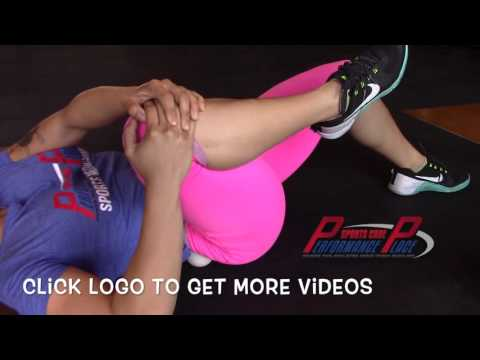 Using A Lacrosse Ball For Tight Glute Max - Huntington Beach Sports Chiropractor Doctor