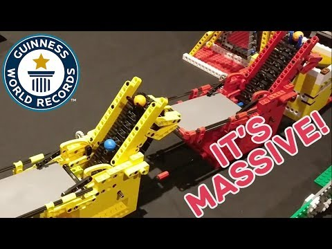 Largest LEGO® great ball contraption – Guinness World Records Uncut