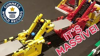 Largest LEGO® great ball contraption - Guinness World Records Uncut
