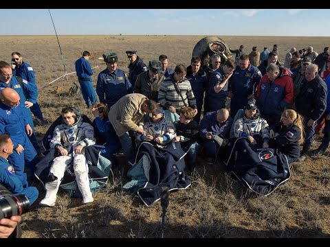 Expedition 50 Returns to Earth!