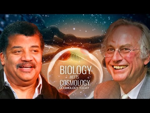 When Biology Meets Cosmology - Neil deGrasse Tyson and Richa