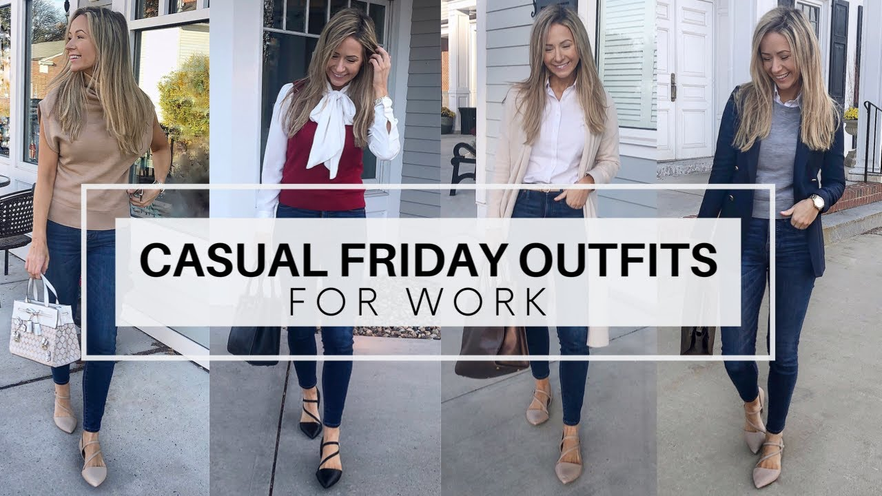 [VIDEO] – Casual Friday Outfits For Work  I  Dress Down Day Outfit Ideas