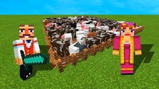 WORLDS BIGGEST MINECRAFT FARM! (Minecraft #2)