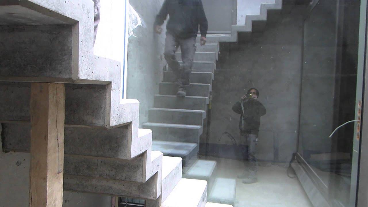 Sichtbetontreppe Treppe In Sichtbeton Schwarz Kletzenbauer