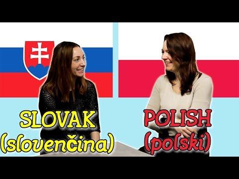 Similarities Between Slovak and Polish