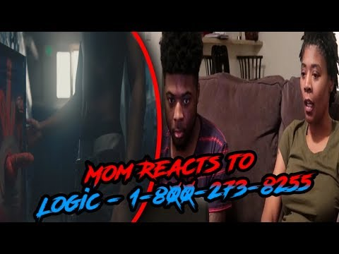 Mom Reacts to Logic - 1-800-273-8255 ft. Alessia Cara, Khalid