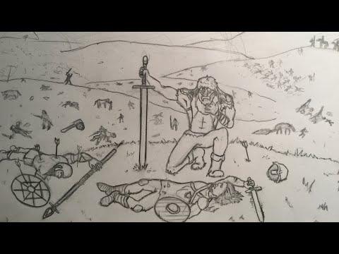 Battle Field Drawing Timelapse