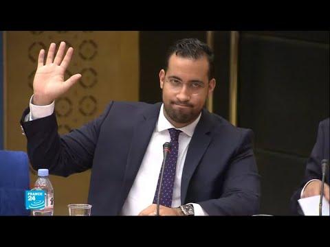 بينالا يدافع عن نفسه خلال جلسة استماع في مجلس الشيوخ الفرنسي  - نشر قبل 1 ساعة