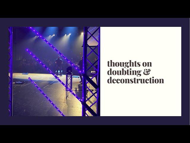 Questions + Deconstruction