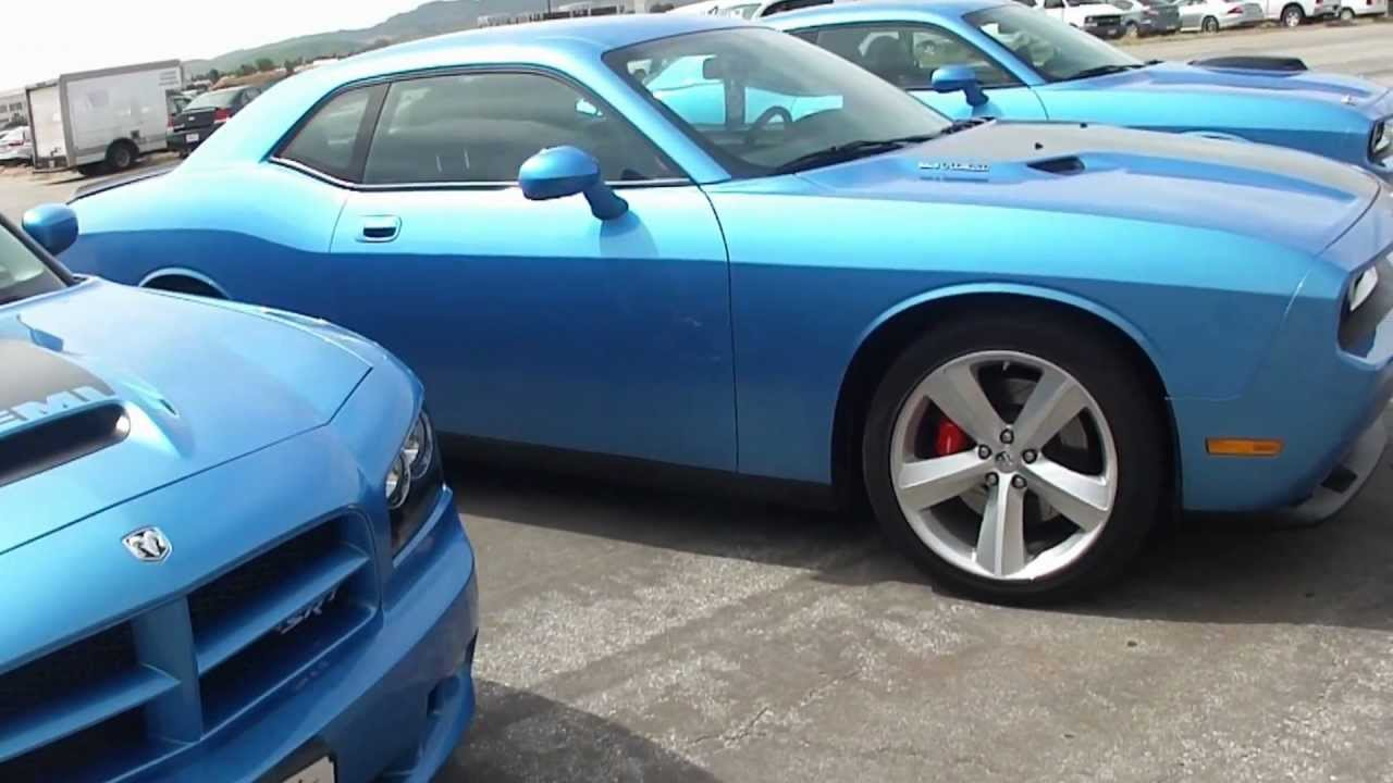 B5 Blue Challengers And Super Bee Charger Srt S Youtube