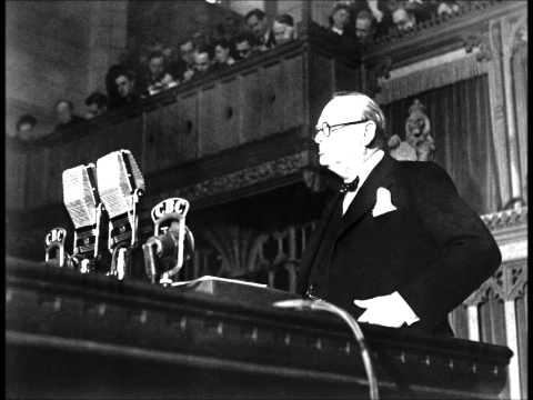 "Winston Churchill ""Blood, Toil, Tears and Sweat"""