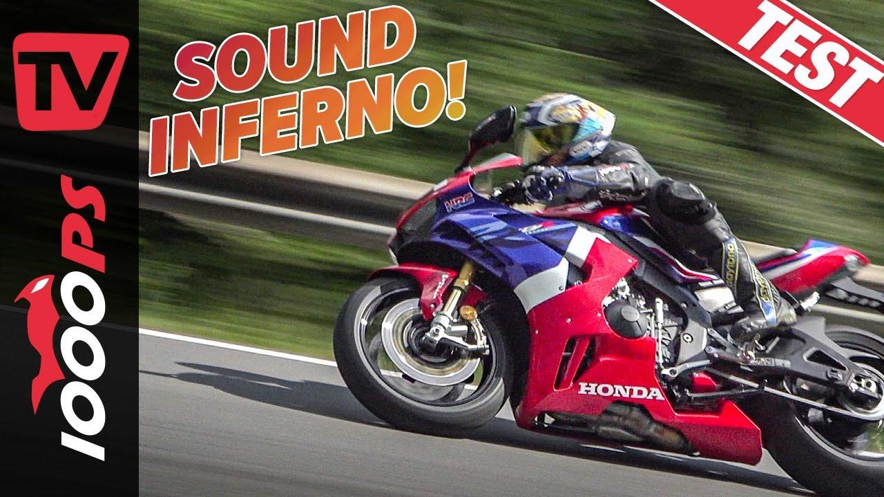 Honda CBR1000RR-R Fireblade - ÜBER-Superbike im Test! Das schnelle Quartett Teil 2