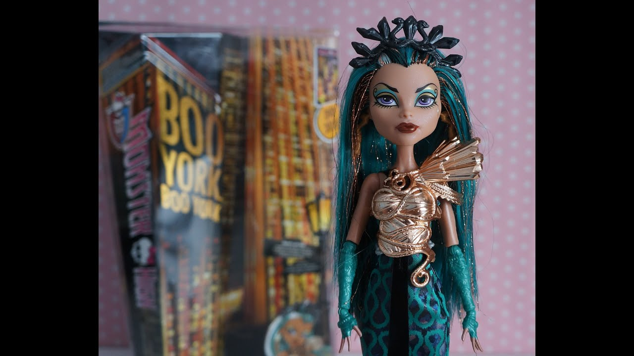 Monster high nefera de nile t rk e tan t m boo york boo york youtube - Nefera de nile ...