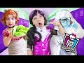 Monster High В СТАРОСТИ Клодин Вульф Дракулаура и Эбби старушки mp3