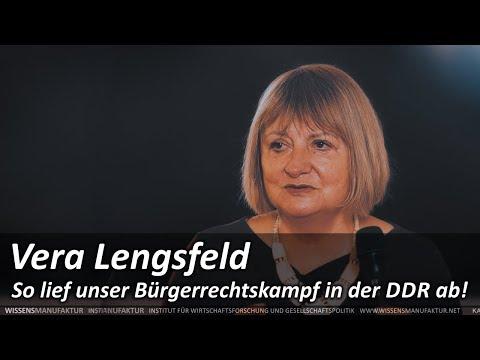 Vera Lengsfeld: So lief unser Bürgerrechtskampf in der DDR ab!