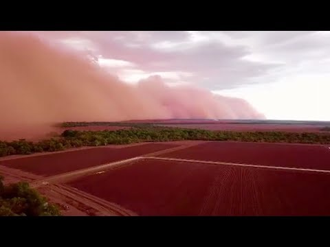 Massive Dust Storm Sweeps Across Southeast Australia