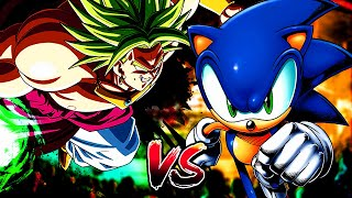 ULTRA SONIC VS BROLY | ENDGAME (Sprite Battle)
