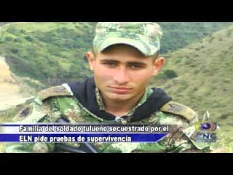 FAMILIA DEL SOLDADO PÉREZ SECUESTRADO PIDE PRUEBAS DE SUPERVIVENCIA